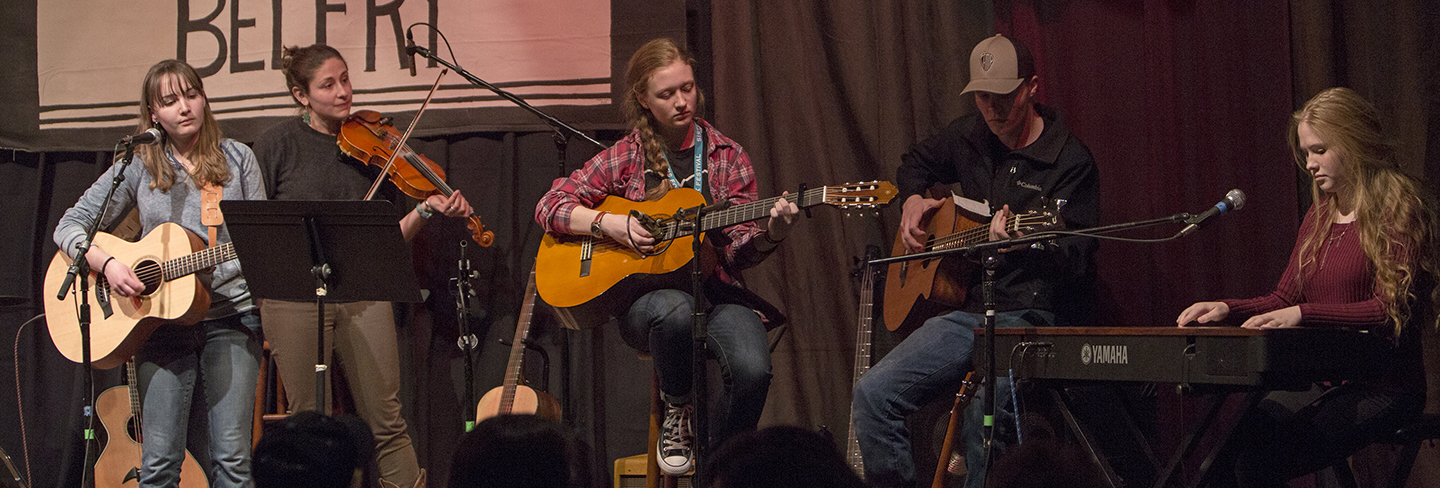 Americana Song Academy for Youth - Sisters Folk Festival