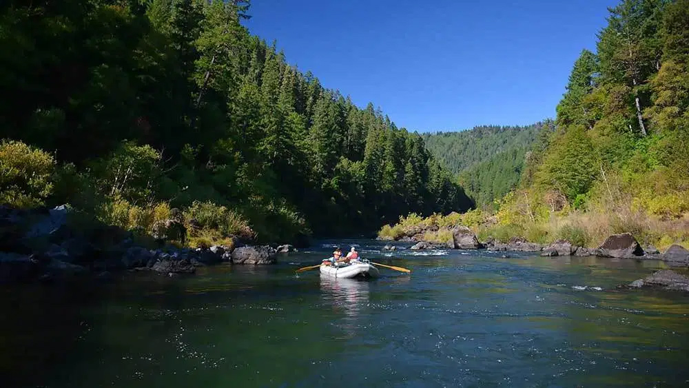 Floating the Rogue River